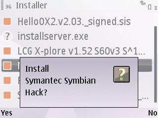 Cara mengatasi sertifikat kadaluarsa pada ponsel symbian s60v3 s60v5 E63 E71 N97 Mini